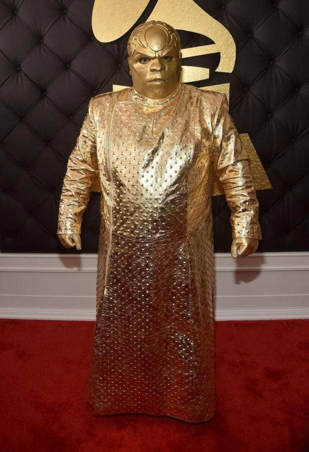 Cee Lo Green Appears To Have Gone To The Grammys As An