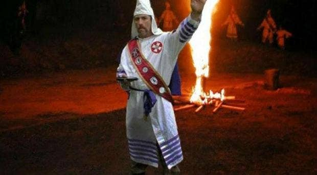 Ku Klux Klan leader found dead in river