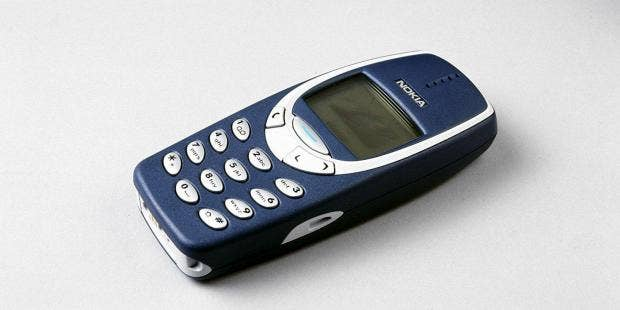Nokia's 3310 returns to life as a modern classic