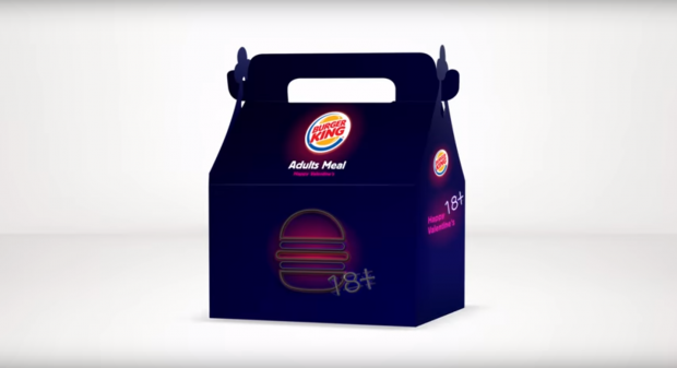 Burger King Offers 'Adult Toy' in Valentine's Day Meal Box