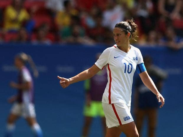 Carli Lloyd Quotes Awesome Manchester City Women Sign Fifa World Player Of The Year Carli