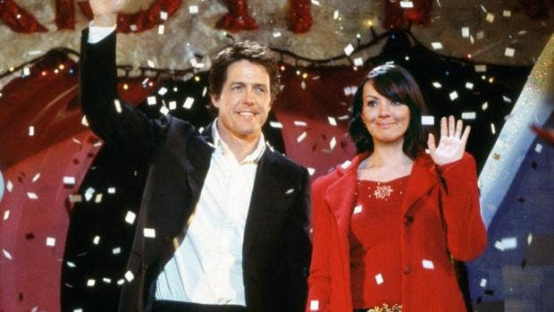 Hugh Grant and Martine McCutcheon reunite on set of Love Actually sequel