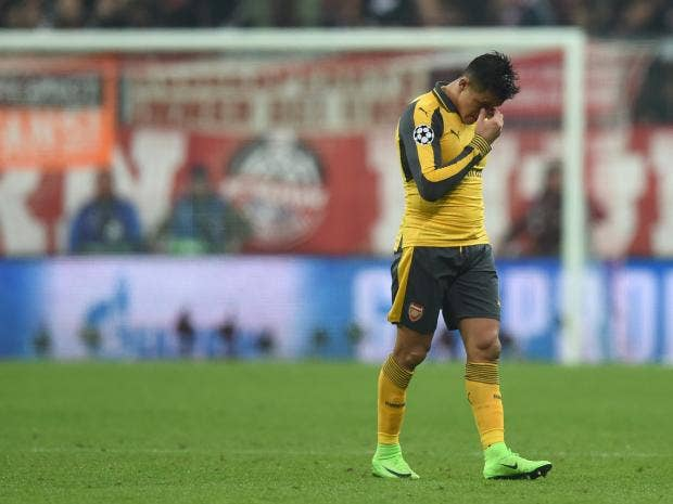 Alexis Sanchez will leave Arsenal in the summer