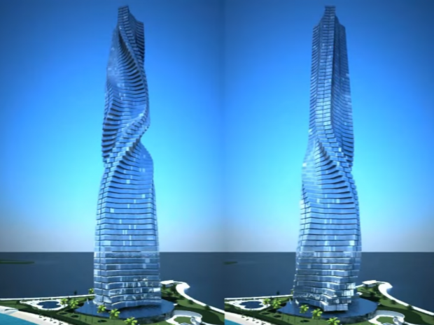 World S First Fully Rotational Skyscraper Allows Residents