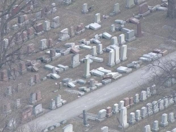 American anti-Semitism: US Muslims raise $50000 to fix  vandalised Jewish cemetery headstones