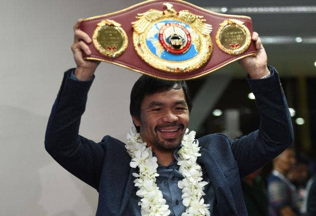 Manny Pacquiao in talks with Amir Khan over his next fight