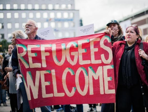 Αποτέλεσμα εικόνας για sweden welcome immigrants