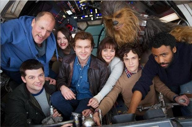 Star Wars: Han Solo Movie Officially Starts Filming, New Cast Image Released