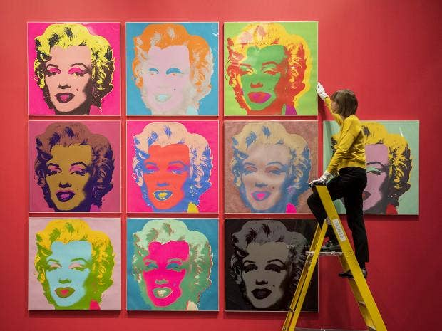andy warhol and his painting marilyns essay Get access to the life of andy warhol essays only andy warhol - his films, art and life wwwmarilynmonroeartnet/marilyn-monroe-painting/andy-warhols-marilyn.