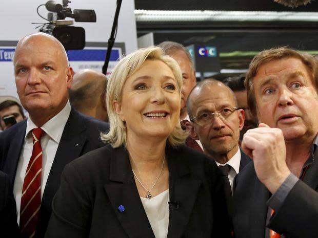 Le Pen's Chances to Win in 2nd Election Round Down by