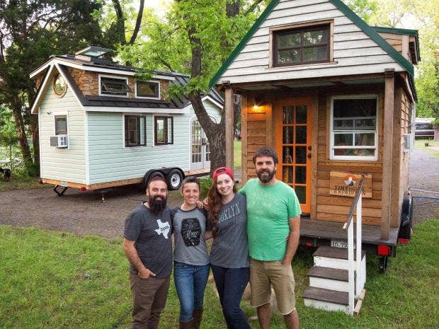 Tiny House movement Meet the couple who live in home the size of
