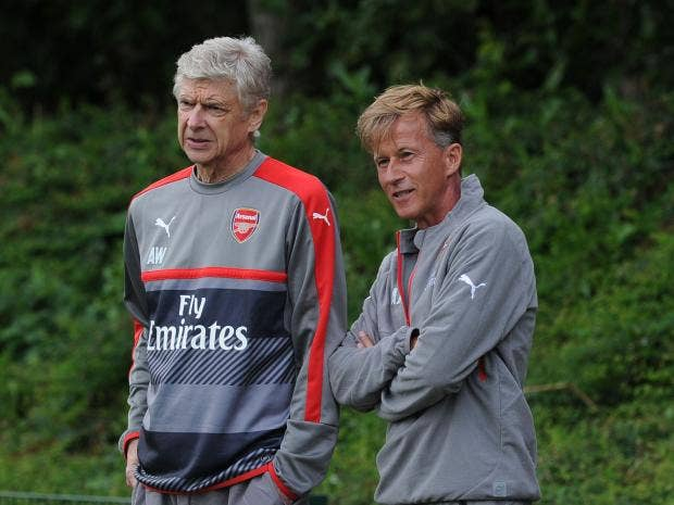 Arsenal academy head Andries Jonker leaving Gunners for Wolfsburg manager's job