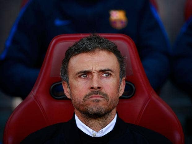 Luis Enrique says he's leaving Barcelona at end of season