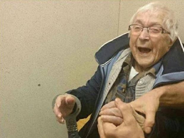 99-Year-Old Dutch Woman Arrested. It Was On Her Bucket List