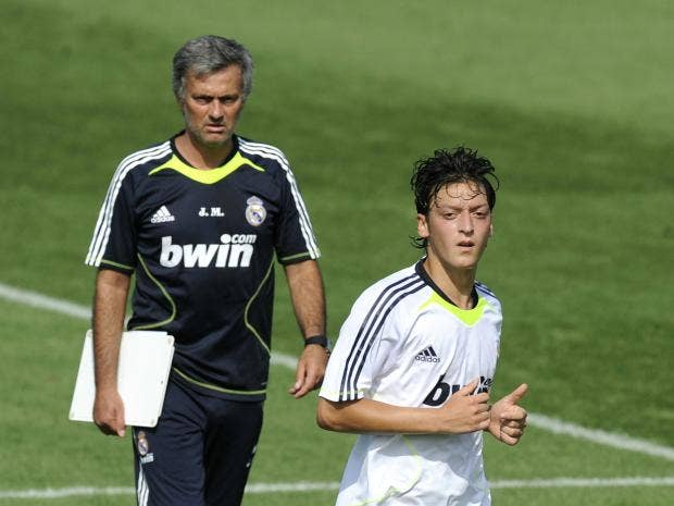 'You coward!' - Ozil reveals Mourinho bust up