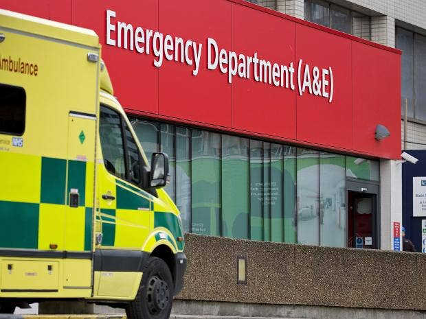 Image result for Britain, NHS, A&E, photos