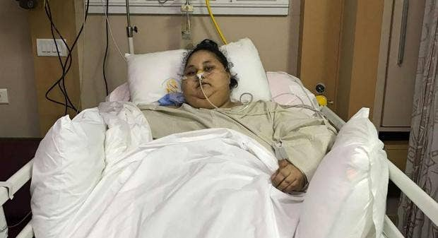 Heaviest Woman's Surgery To Reduce Weight A Success