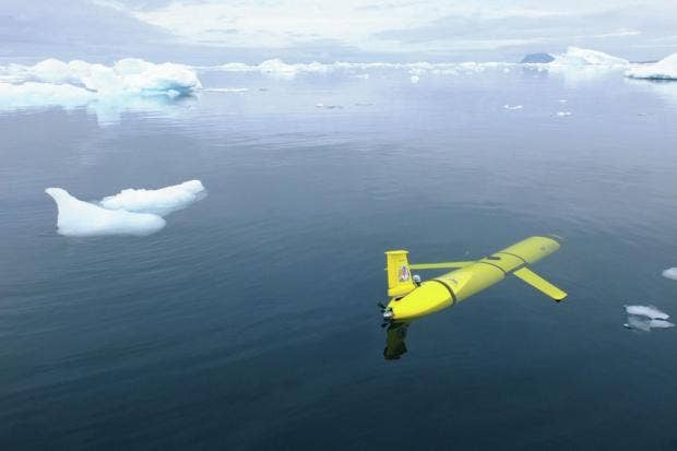 Boaty McBoatface dives into first Antarctic mission