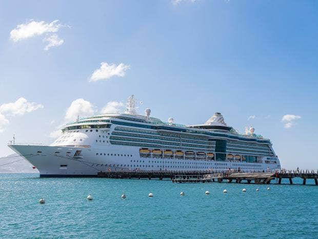 Air Quality On Cruise Ship Deck Worse Than Worlds Most Polluted - Cruise ship trouble
