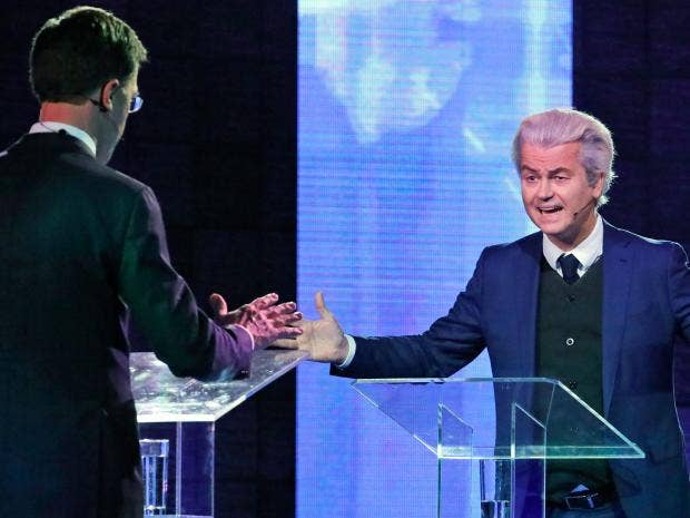 Exit Polls Are Not Looking Good for Geert Wilders