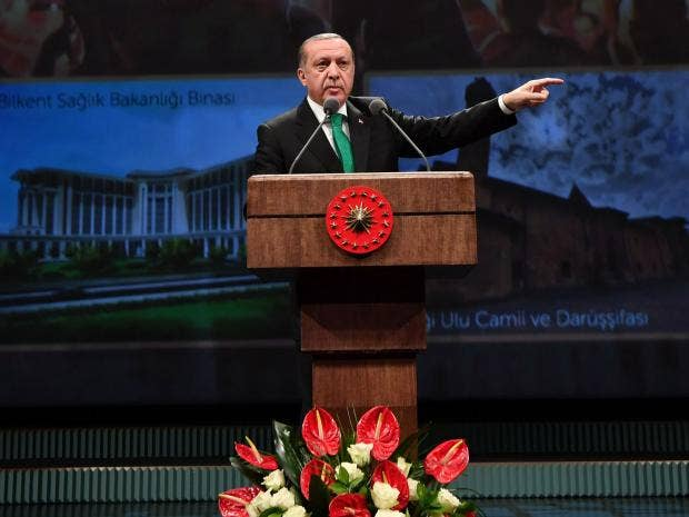 Erdogan Compares Muslims In Europe Today To Jews In Nazi Germany