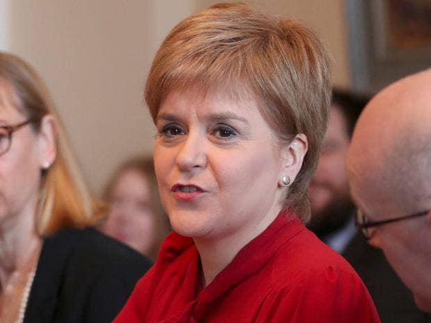 Sturgeon calls for second Scottish independence referendum
