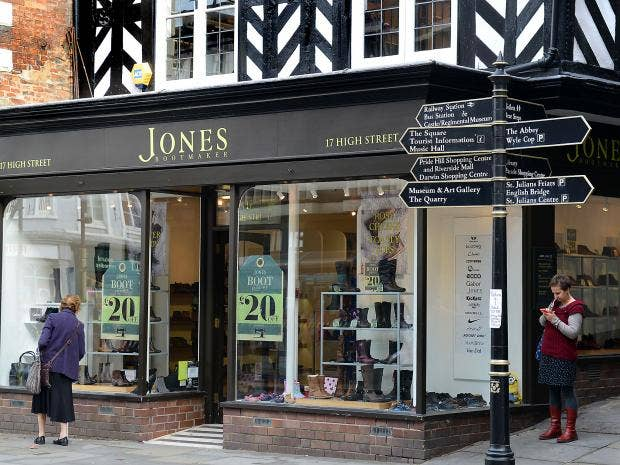 Jones Bootmaker to call in administrators, risking hundreds of high street jobs