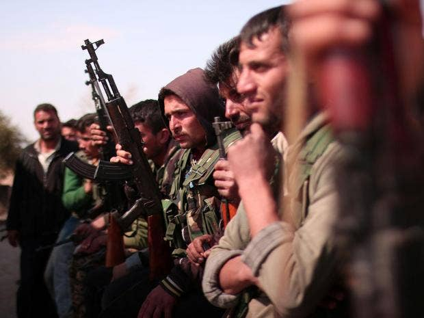 Syrian Kurdish militia says it's getting Russian training
