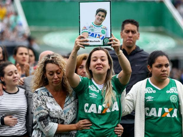 Chapecoense Were Travelling To Play In The Copa Sudamerica Final Getty