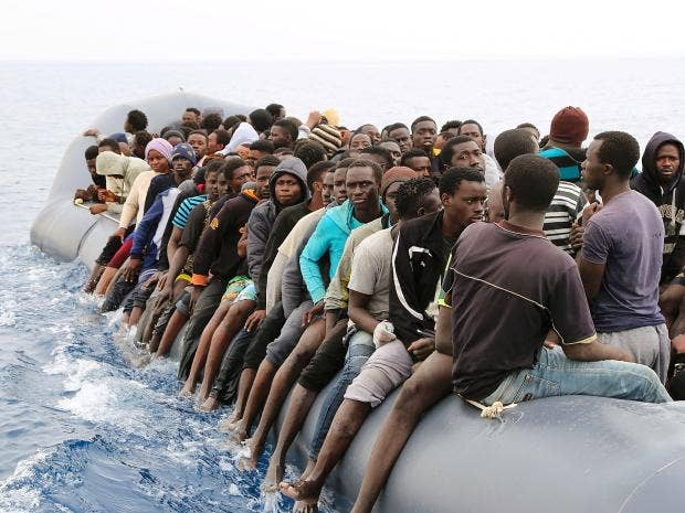 Slave Trade In Libia >> Libyan court suspends deal struck with Italy aiming to reduce refugee boat crossings over ...