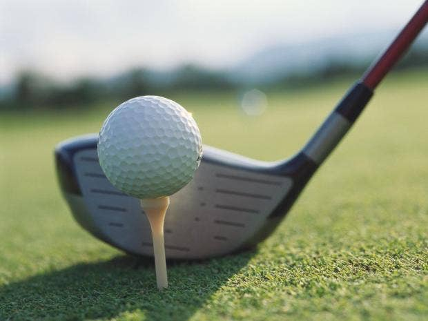 Секс во время гольфа