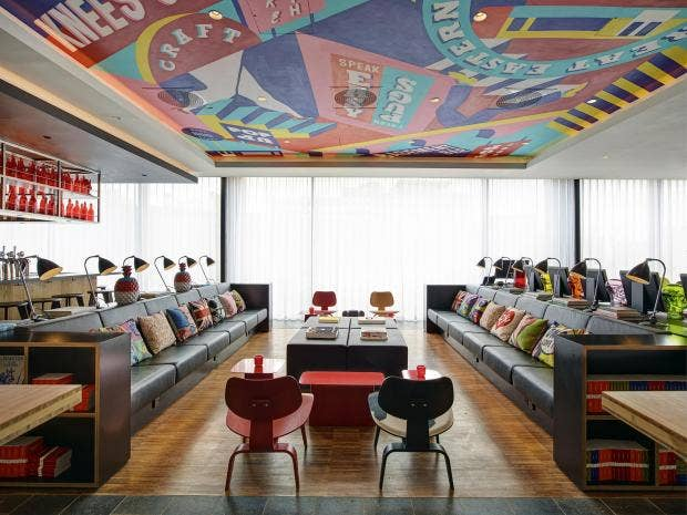 Citizenm shoreditch the dutch chain bringing style to for Best boutique hotel chains