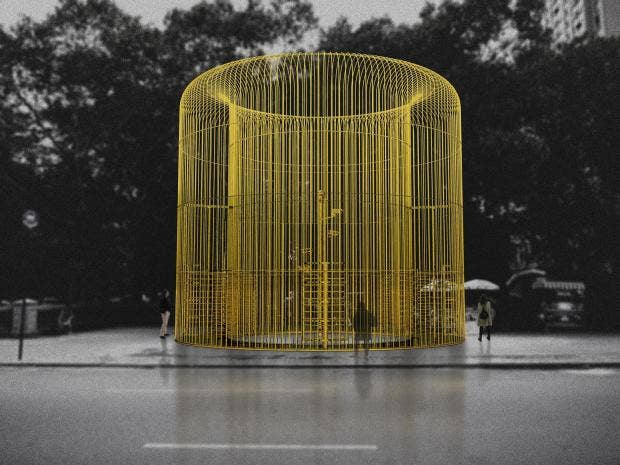 Ai weiwei to build fences throughout new york for an exhibit on immigration