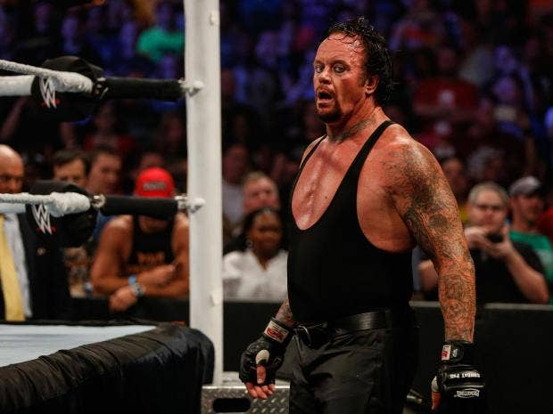 the undertaker s