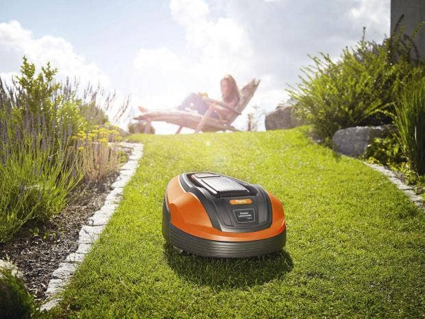 Image result for Robotic Lawn Mowers