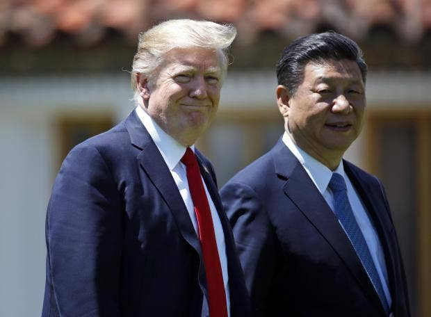 Trump touts 'tremendous progress' with Chinese President Xi Jinping