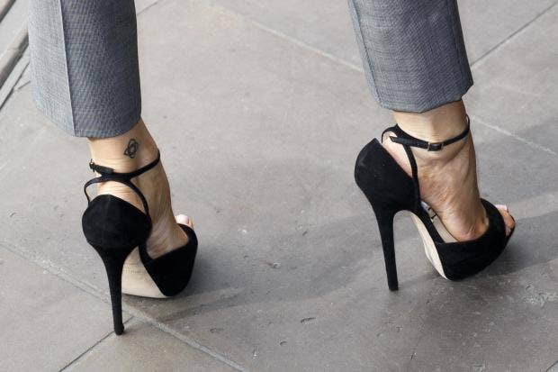 'Forcing someone to wear high heels at work is unacceptable,' says Canadian  minister Getty