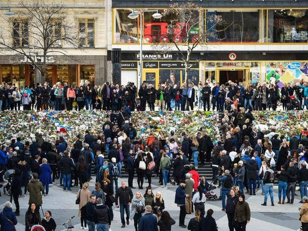Stockholm truck attack suspect showed interest in ISIS