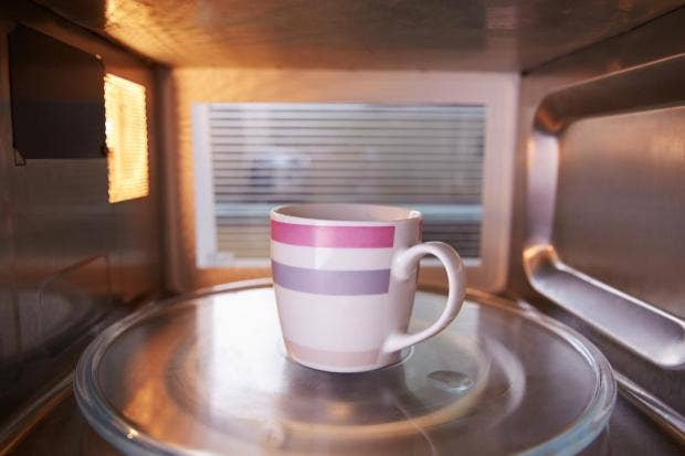Microwaving you tea is the healthiest way to brew it