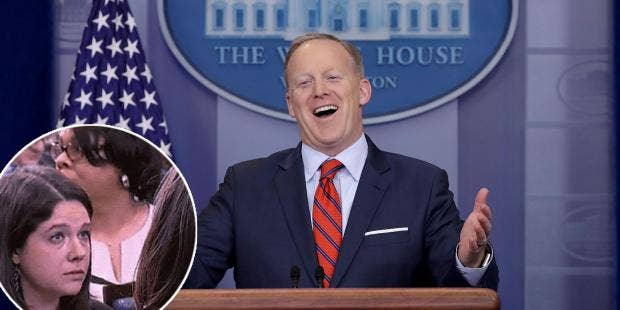 Sean Spicer Apologizes After Comparing Syrian President to Adolf Hitler