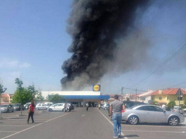 Five Killed As Plane Crashes In Lidl Car Park In Portugal  The Independent