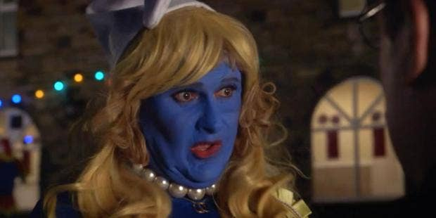 Peter Kay S Car Share Viewers Shocked After Discovering The Drunk Smurf Was Played By A Game Of