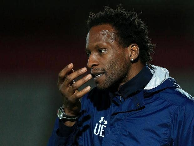 Tottenham U-23 coach Ehiogu in hospital after collapsing