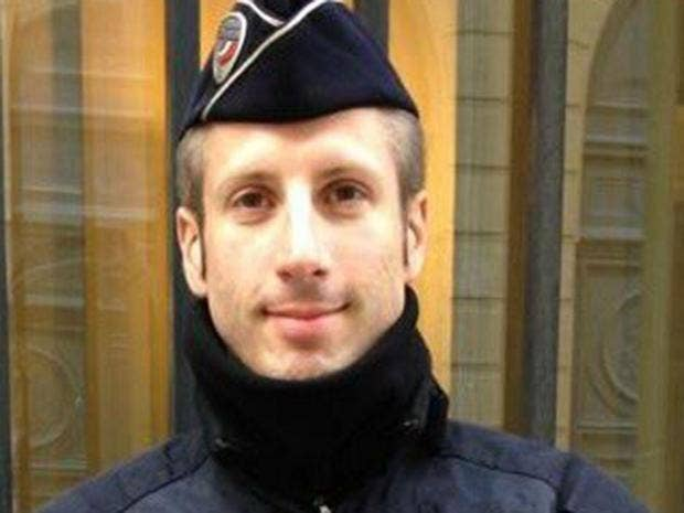 Image result for French police officer Xavier Jugele