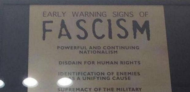 This List Of 14 Early Warning Signs Of Fascism Is Chilling Indy100