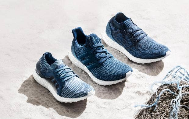 Adidas launches three new trainers made from recycled ocean plastic