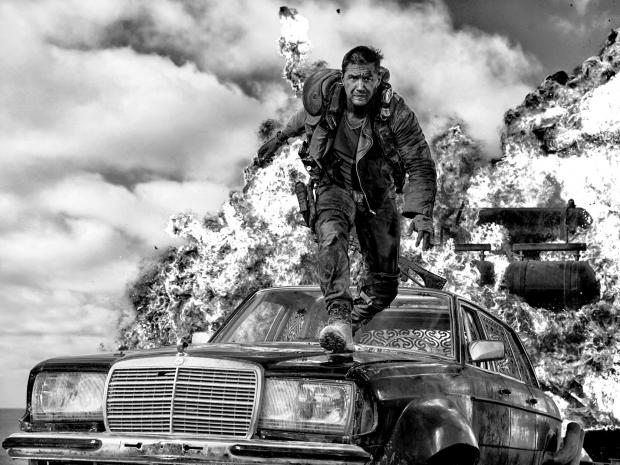 Tom Hardy As Lone Wolf Ex Cop Max Rockatansky In The New Colour Drained U0027Mad  Max: Fury Road U2013 Black U0026 Chrome Editionu0027 Nice Ideas