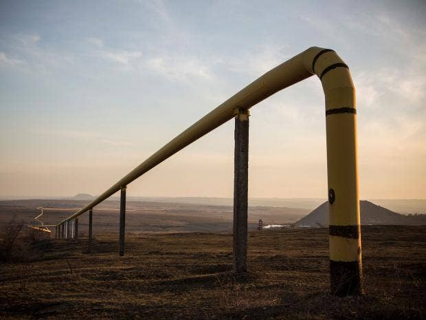 Russia often tries to exert it's control over Ukraine through the price of  natural gas, pumped through seemingly endless pipes installed in the  Ukrainian ...