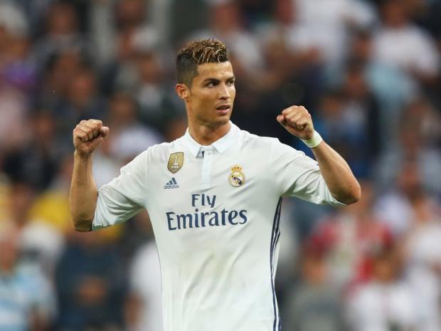 Ronaldo has now scored 13 goals in Champions League semi-finals Getty