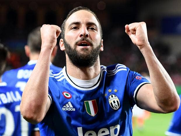 Champions League: Juve inch Closer to Final After Higuain Double